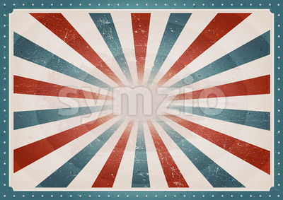 Vintage American Background Stock Vector