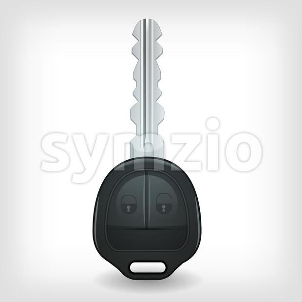 Car Key Icon Stock Photo