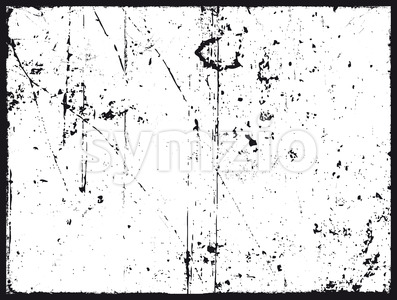 Grunge Texture In Black And White Stock Vector