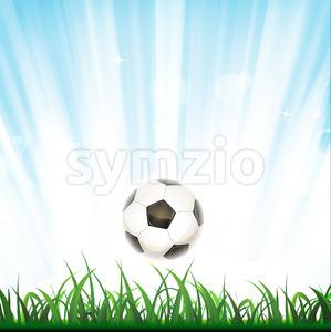 Soccer Background Stock Vector