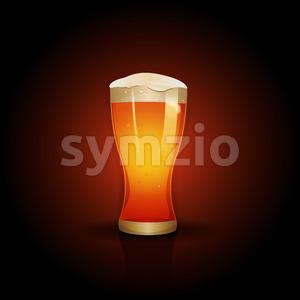Beer Background Design Stock Vector