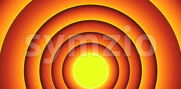 Abstract Cartoon Circles Background Stock Vector