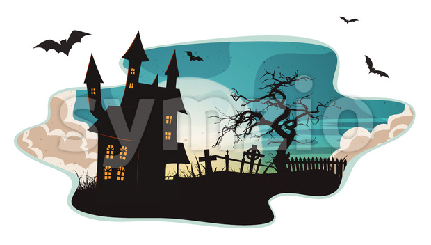 Halloween Background Stock Vector