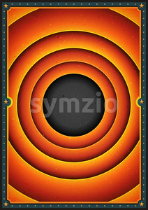 Abstract Vintage Entertainment background Stock Vector