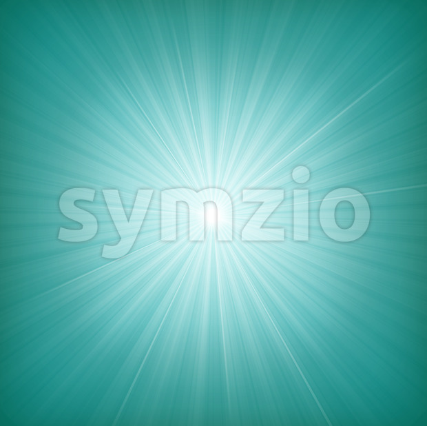 Blue Starburst Background Stock Vector