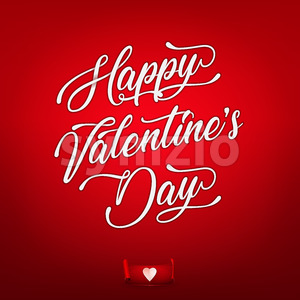 Happy Valentine's Day Wallpaper Stock Vector