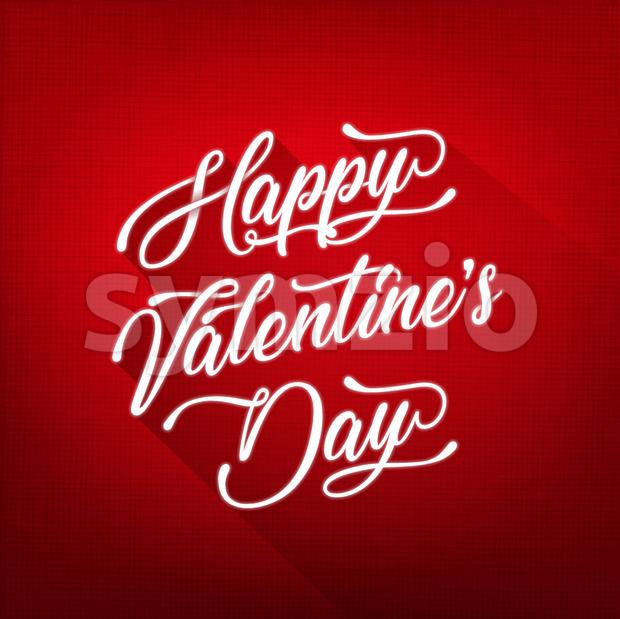 Happy Valentine's Day Background Stock Vector