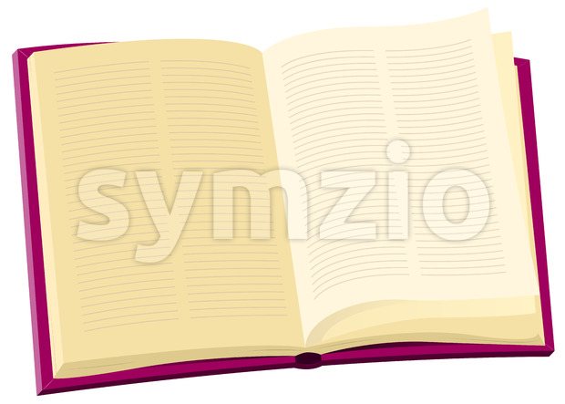 Encyclopedia Book Stock Vector
