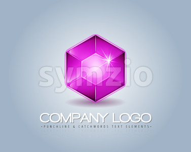 Brand Logo For Luxury Company Stock Vector