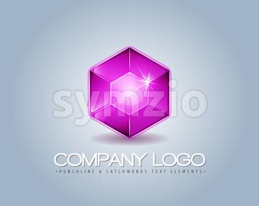 Brand Logo For Luxury Company Stock Vector