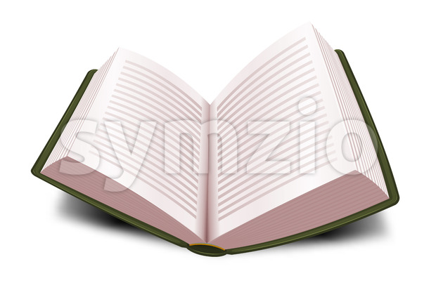Design Open Book With Lines Stock Vector