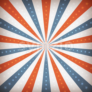 American Fourth Of July Background Stock Vector