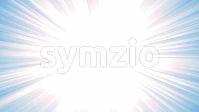 Blue Starburst Background Animation Stock Video
