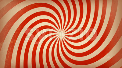 Circus carnival Spiral Background Rotation Stock Video