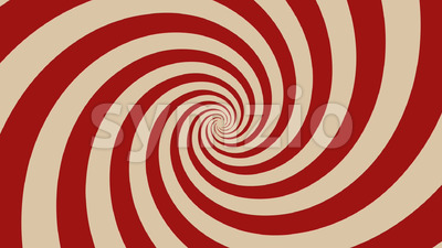 Hypnotic Spiral Background Rotating Stock Video