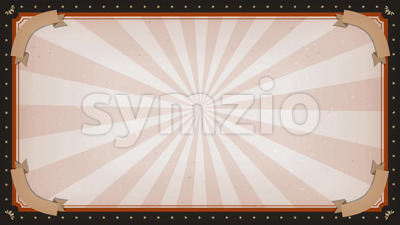 Circus carnival Frame Background Rotation Stock Video