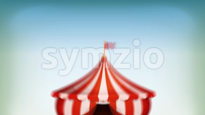 Big Top Circus Background Loop Stock Video