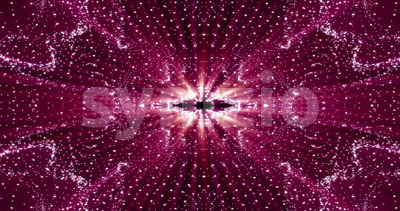Abstract Kaleidoscope Patterns Background Stock Video