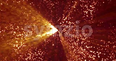 Abstract Stars Revolution Loop Stock Video