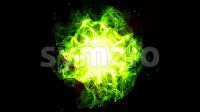 Shockwave Energy Fx Background Animation Stock Video