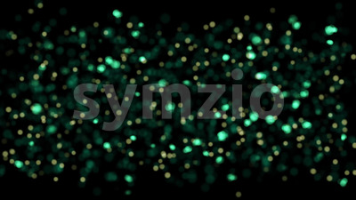Abstract Glowing Particles Background Loop Stock Video