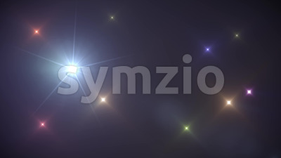 Light Rays Background Loop Stock Video