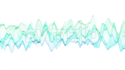 Sine Wave Graphic Background Stock Video