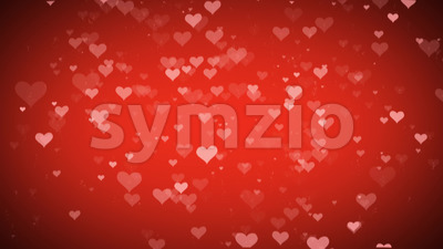 Heart Background For Valentine's day Stock Video