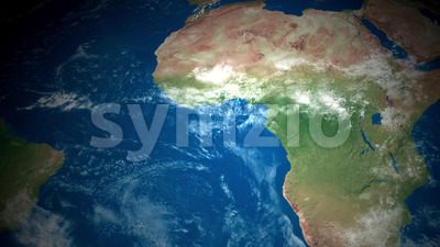 4k World Map Animation Stock Video