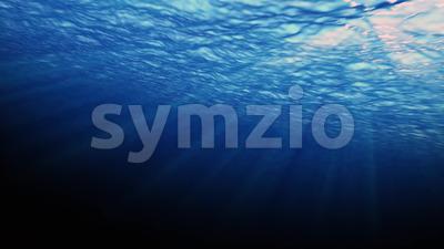 4k Underwater Background Ocean Stock Video