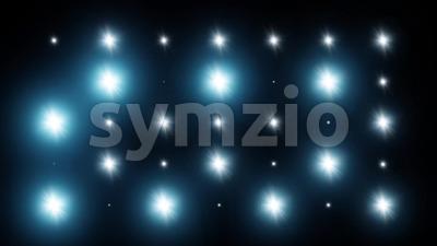 4k Flash Spotlight Background Stock Video