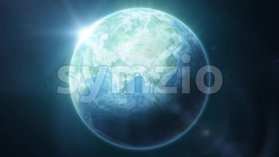 HD Earth Planet Background Loop Stock Video