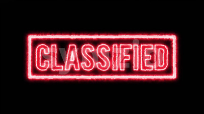 Censored Classified Seal Certificate 4k Stock Video