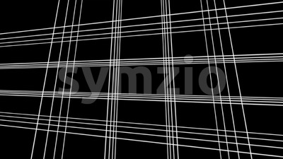 4k Abstract Technology Grid Background Stock Video