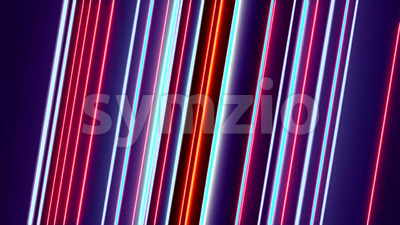 4k Abstract Spinning Lines Loopable Stock Video