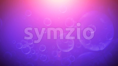 Abstract Shiny Bubbles And Foam Background Stock Video