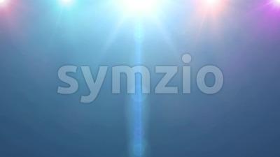 4k Flash Multicolored Spotlight Background Stock Video