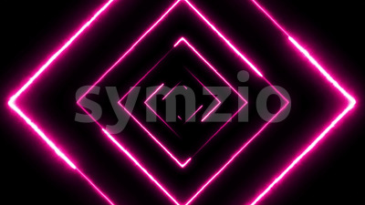 Abstract Digital Background Neon Maze Seamless Loop Stock Video
