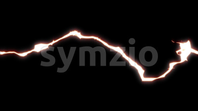 4k Dynamic Action Power Electricity Fx Stock Video