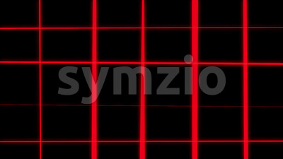 Abstract Grid Wireframe Background Loop Stock Video