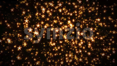 Seamless Looped Abstract Stars Background Stock Video