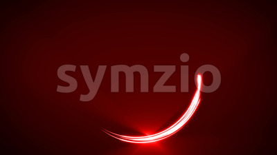 Abstract Light Stroke Circle Animation Stock Video
