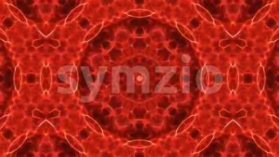 Abstract Kaleidoscope Background Seamless Looping Stock Video