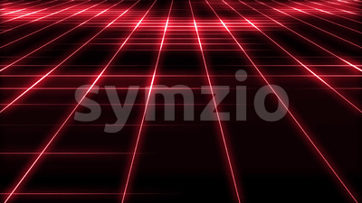 Abstract Technology Grid Background Loop Stock Video