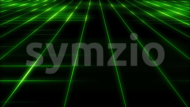 4k animation of an abstract minimal cyberspace grid background seamless looping
