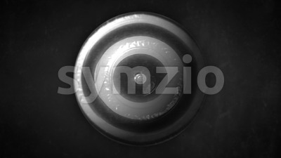 Abstract Strange Hypnotic Globe Background Stock Video