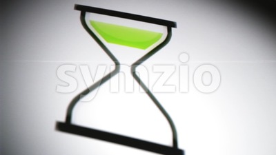 4k-hourglass-3d-time-twisting-background.mp4 Stock Video