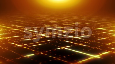 Abstract Technologic Particles Lines Background Loop Stock Video