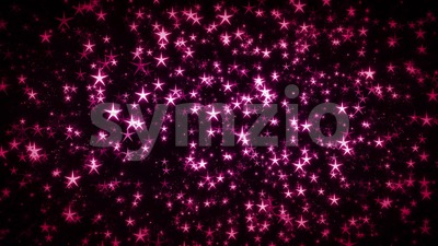 Magic Fairy Stars Seamless Looping Background Stock Video