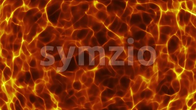 Fire Fractal Waves Background Loop Stock Video